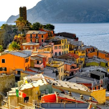 Cinque Terre Vernazza med Italian Travel