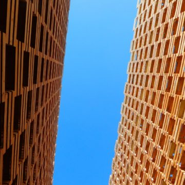 Contemporary architecture in Milan and Rome