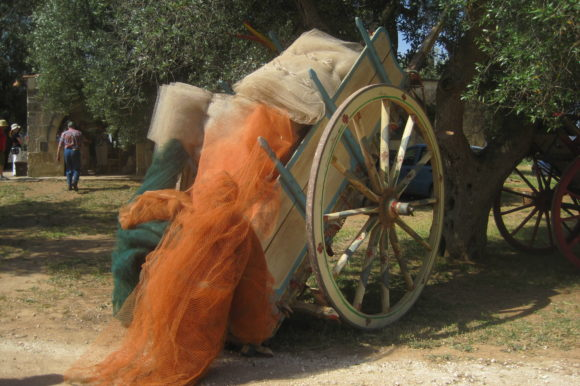 På vespa i Apulien