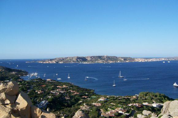 På vespa på Sardinien
